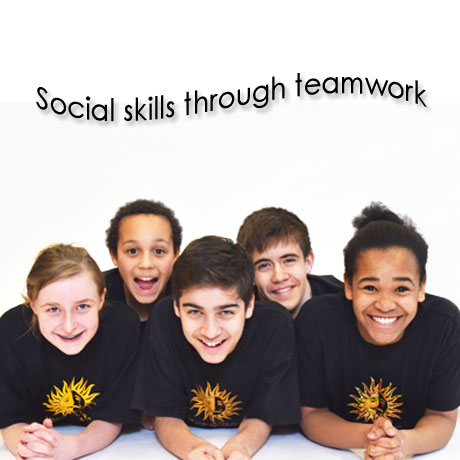 Social skills through teamwork